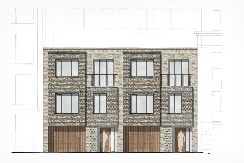 st james s london new mews houses james wells architects. Black Bedroom Furniture Sets. Home Design Ideas